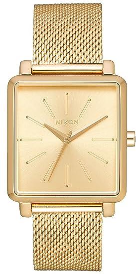 Reloj NIXON K Squared Milanese All Gold A1206502 Mujer Oro
