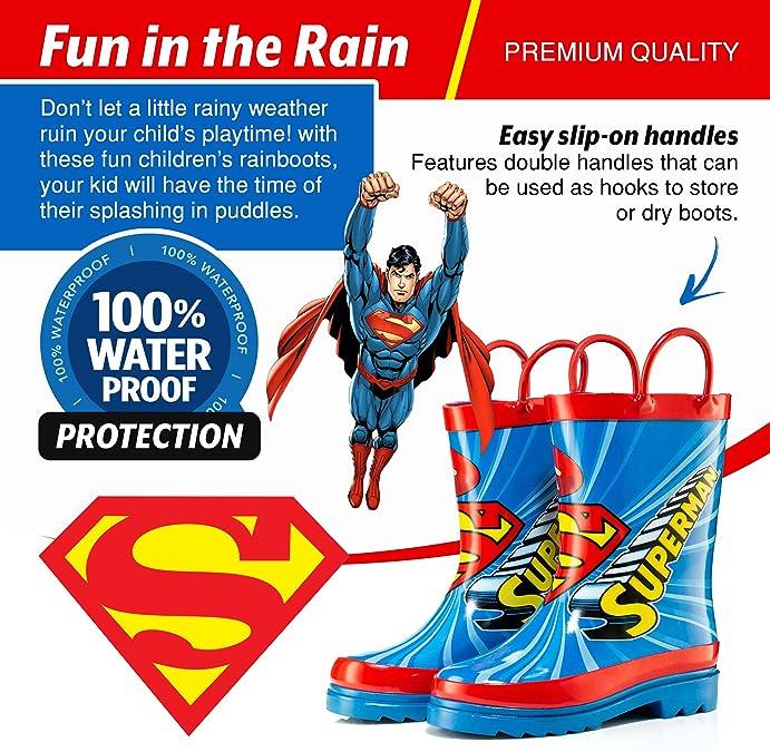 Toddler//Little Kid//Big Kid DC Comic Superman Canvas Trainer