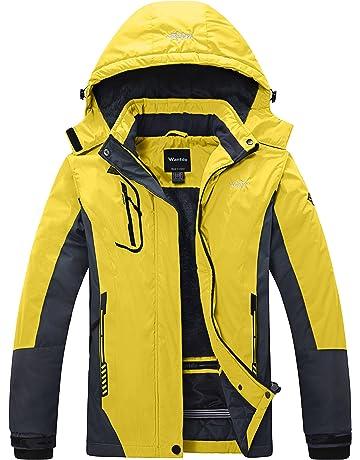 Wantdo Women s Mountain Waterproof Ski Jacket Windproof Rain Jacket bbab08e96