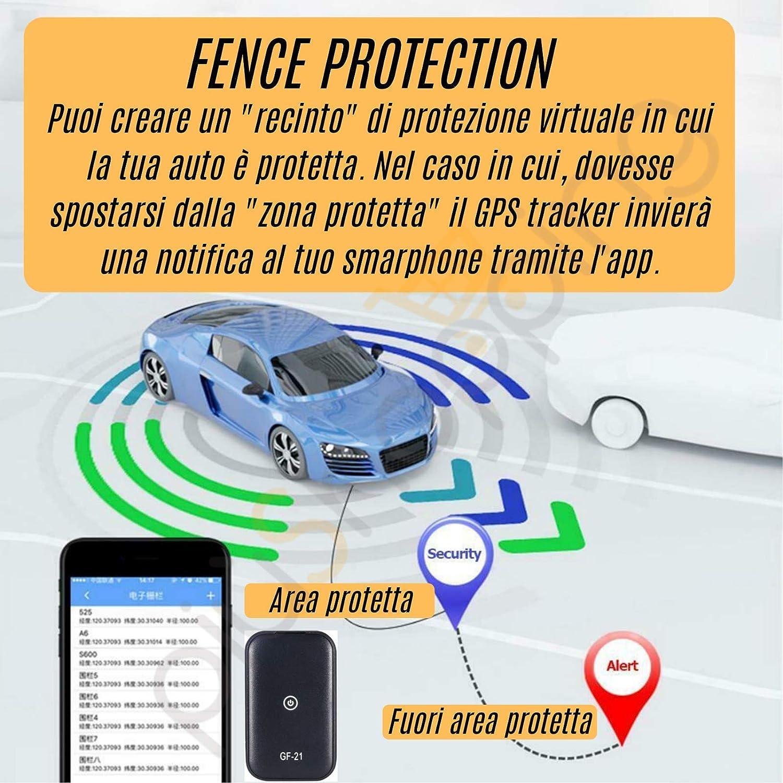 Grabador de voz, rastreador de posición, satélite, GPS, coche/moto, espía con grabadora de voz magnética con aplicación: Amazon.es: Electrónica