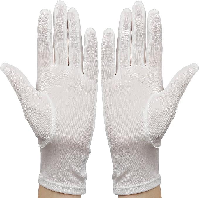 Membrane Guantes de Seda Blancos Hidratantes Eczema Protege la Piel de tus Manos Un Tamaño - Unisex: Amazon.es: Belleza