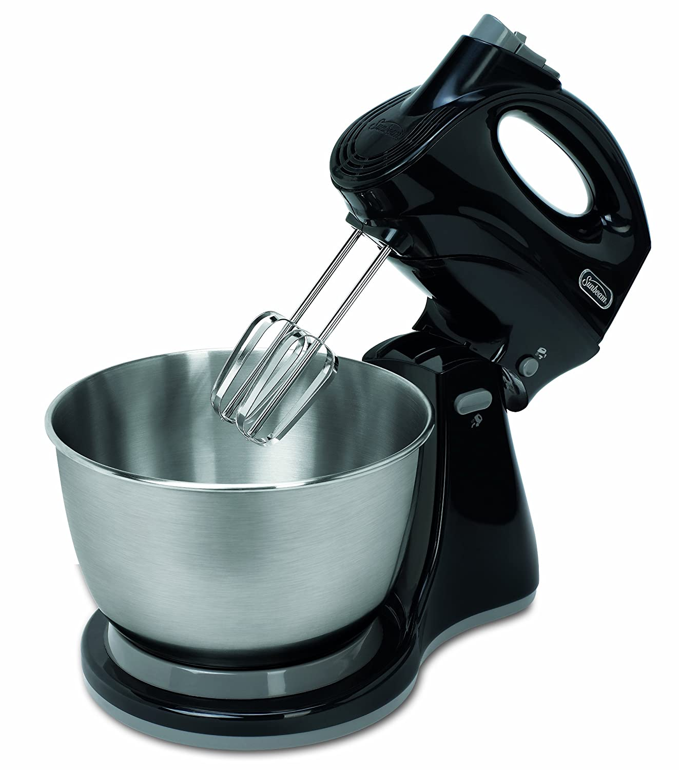 Amazon.com: Sunbeam FPSBHS0302 250-Watt 5-Speed Stand Mixer, Black ...