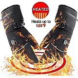 Svpo Winter elektrische beheizte Handschuhe mit Lithium-Ionen-Akku, Wasserdichte Isolierte Heizhandschuhe, Thermische Arthritische Handschuhe für Männer und Frauen