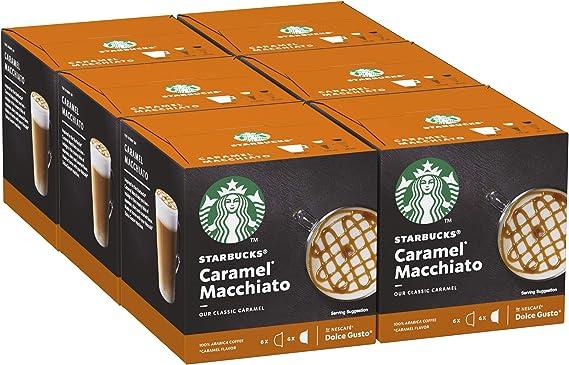STARBUCKS Caramel Macchiato De Nescafe Dolce Gusto Cápsulas De ...