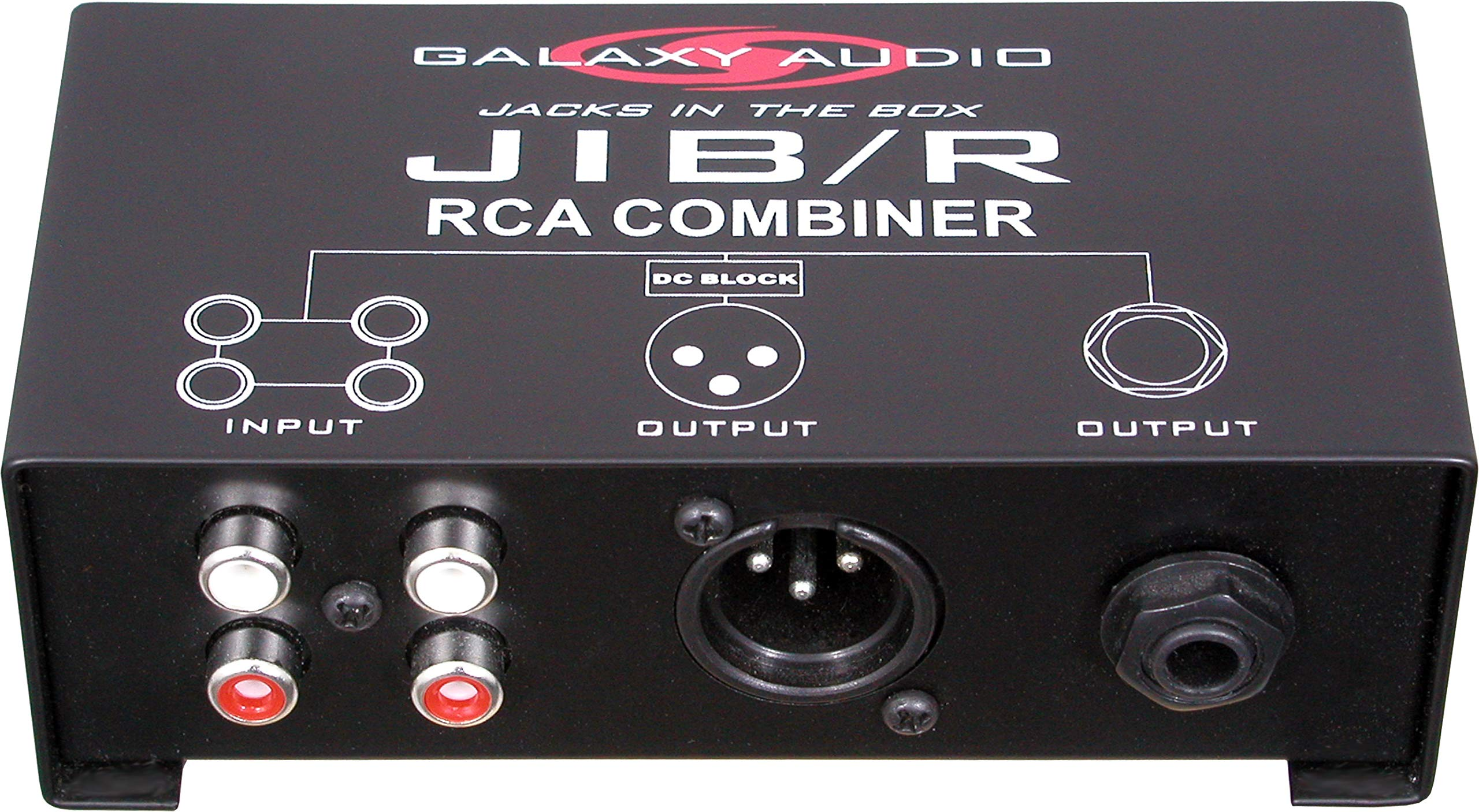 Galaxy Audio JIBR RCA Combiner by Galaxy Audio