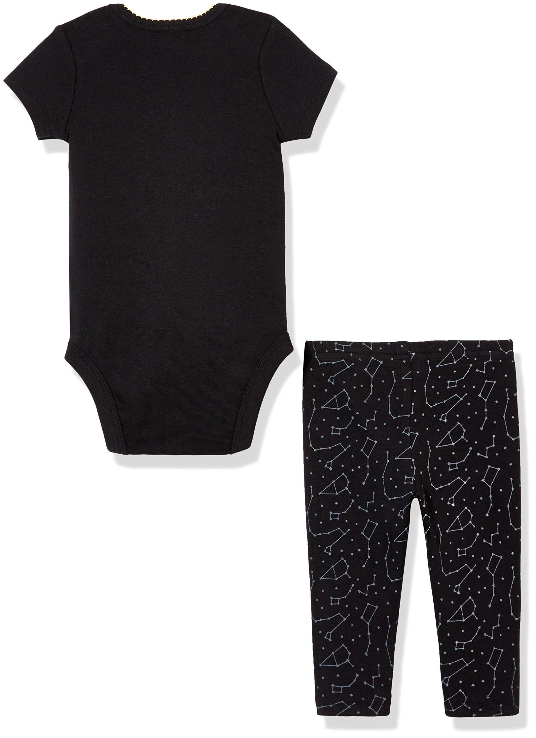 cdcc34aca Cute Baby Unisex 2-Piece Short-Sleeve Bodysuit Onesies and Pant ...