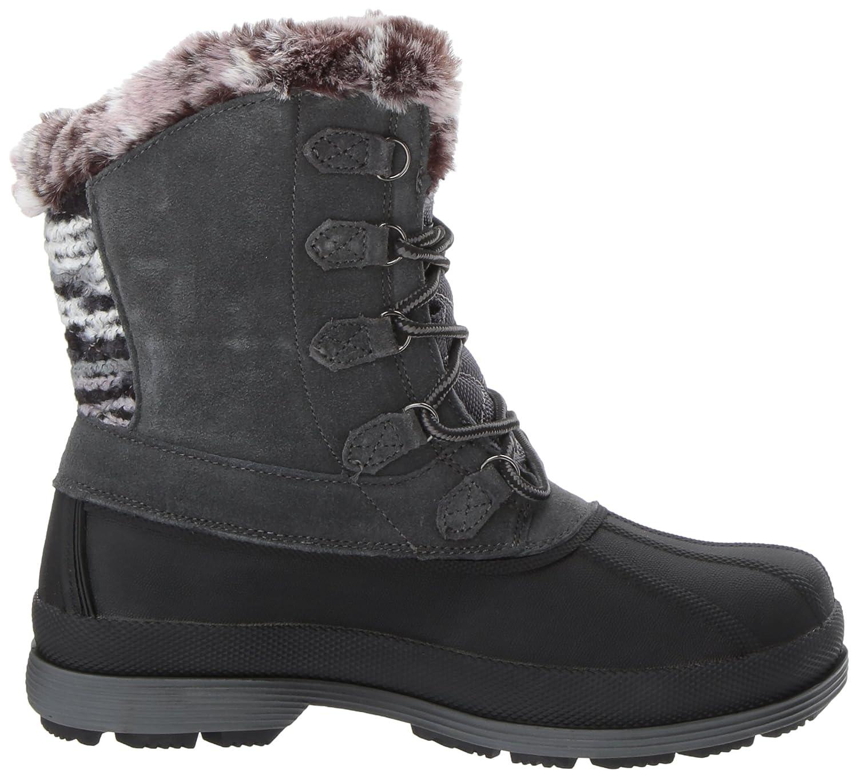Propet Women's Lumi Tall Lace Snow Boot B01NCET156 11 B(M) US|Grey