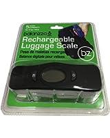 Balanzza MINI USB Rechargable Digital Luggage Scale Capacity with Backlight Display, BZ400U 5 years