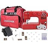 Janome 13512 Red Hello Kitty Sewing Machine with Bonuspack!