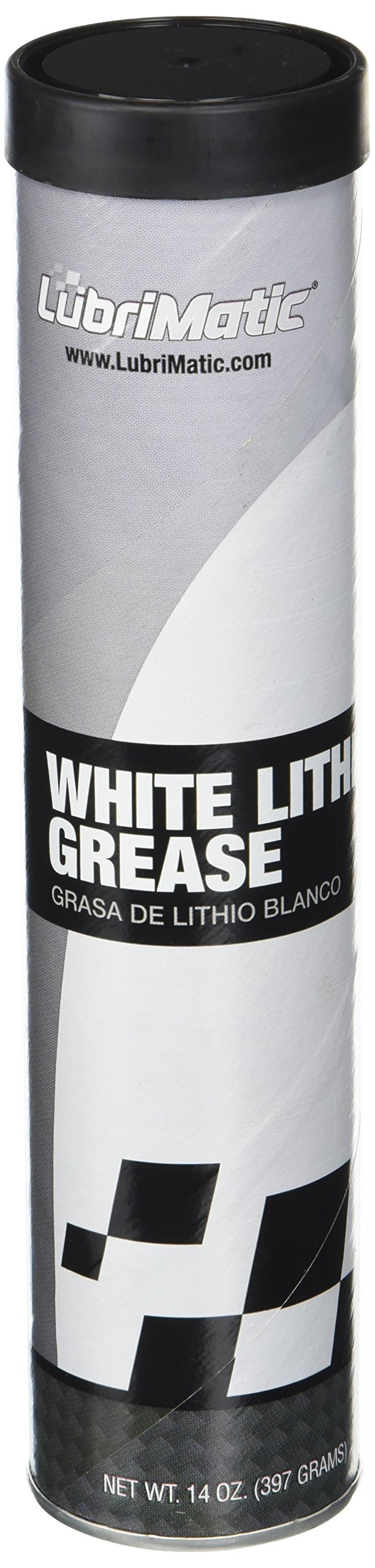 LubriMatic 11354 1 Pack White Lithium Grease, 14 Oz. Cartridge