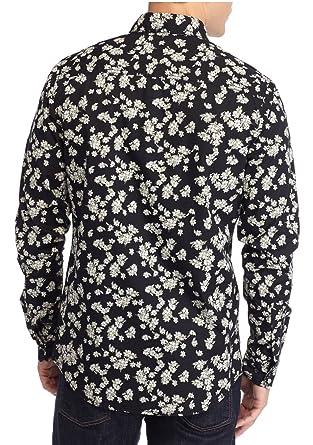 240a8b2835f0f Red Camel Men s Floral Shirt (Black Floral