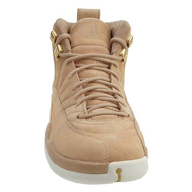 finest selection 603d8 75f59 Nike Damen WMNS Air Jordan 12 Retro Fitnessschuhe Mehrfarbig (Vachetta  Tan Metalli 203) 39 EU  Amazon.de  Schuhe   Handtaschen