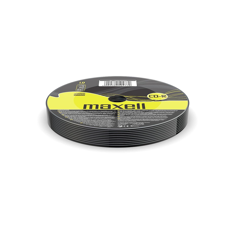 Maxell CD-R 80XL 52x 100 Pack 700 MB 100 Pieza(s) - CD-RW vírgenes (CD-R, 700 MB, 100 Pieza(s), 120 mm, 80 min, 52x)