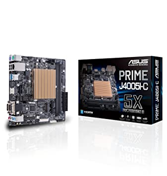 ASUS Prime J4005I-C Mini ITX - Placa Base (DDR4-SDRAM, 2133 ...