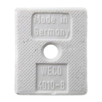 Weco 4010 B Porcelain Ceramic Euro Style Terminal Block 600 Volt 2 Pole Capacitors Amazon Com Industrial Scientific