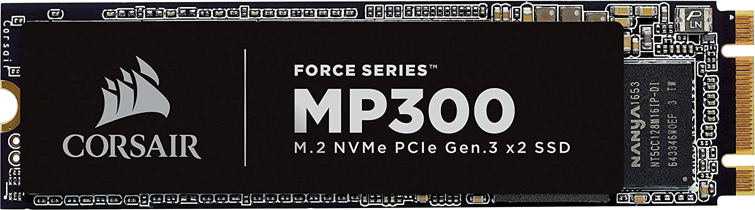 CORSAIR Force Series MP300 240GB NVMe PCIe M.2 SSD Solid State Storage Corsair Memory Only CSSD-F240GBMP300
