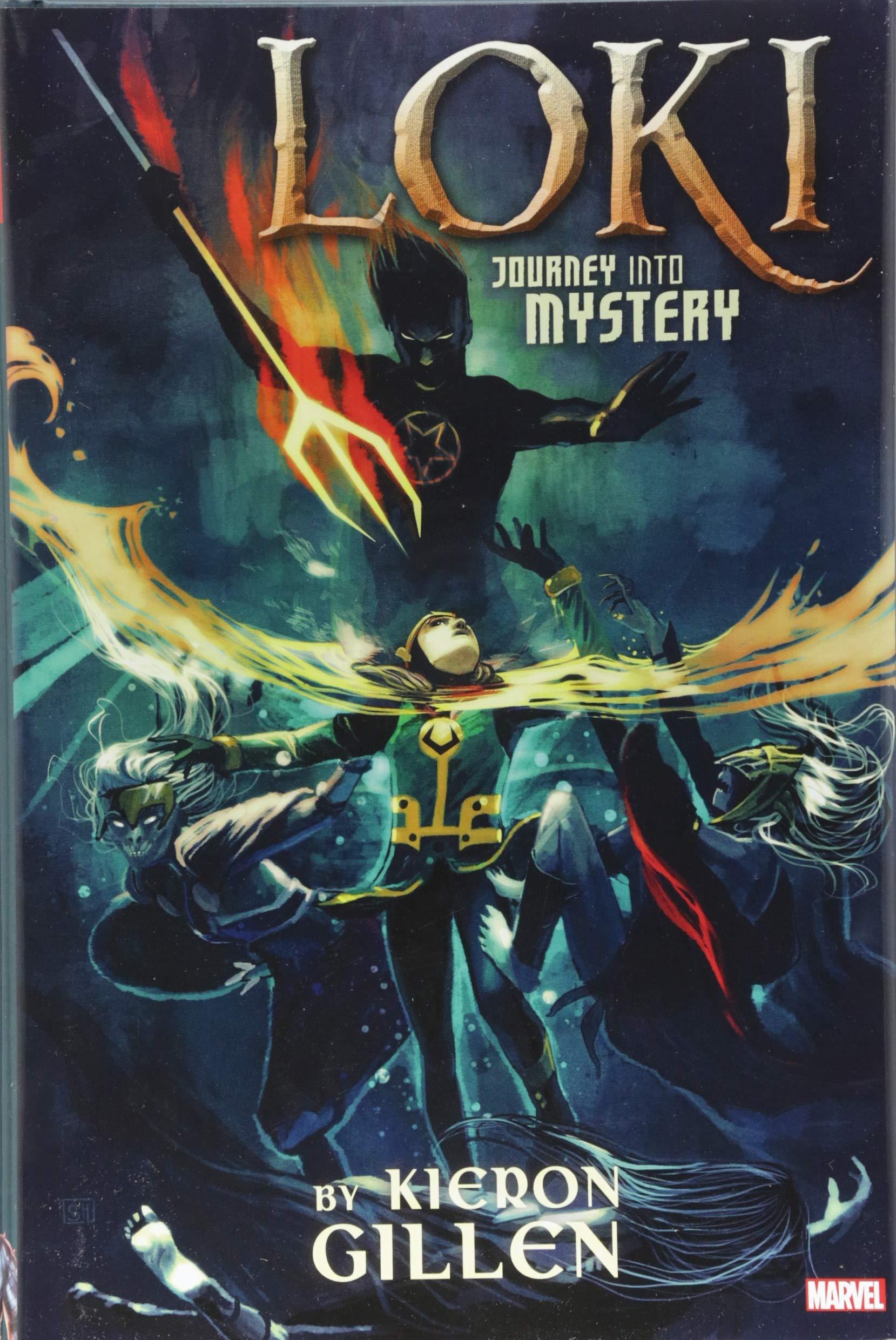 Amazon com: Loki: Journey Into Mystery by Kieron Gillen Omnibus