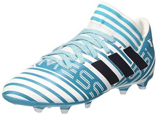 8364d431d2e9 Adidas Boys Nemeziz Messi 17.3 Fg J Ftwwht Legink Eneblu Sports Shoes - 1