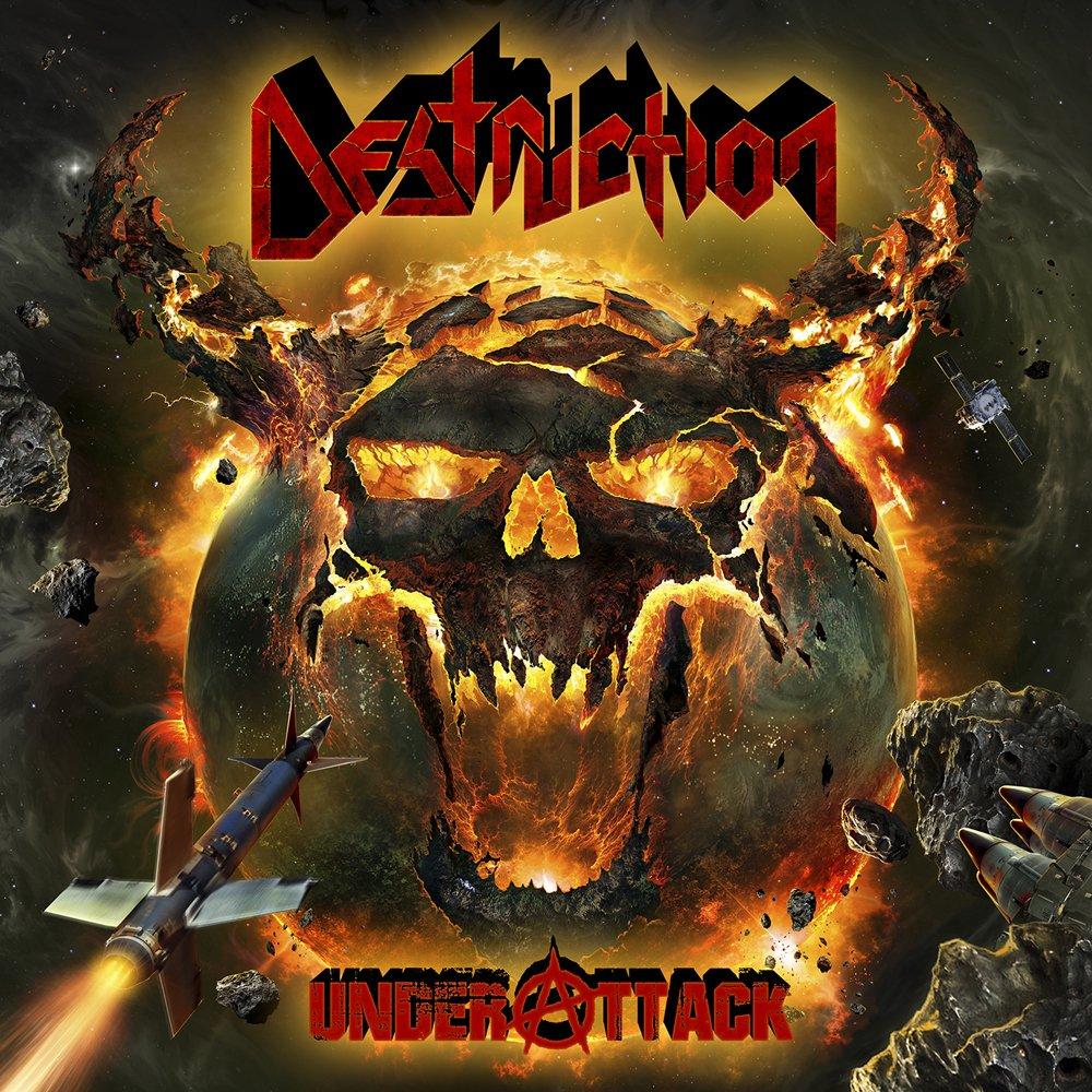 CD : Destruction - Under Attack (CD)