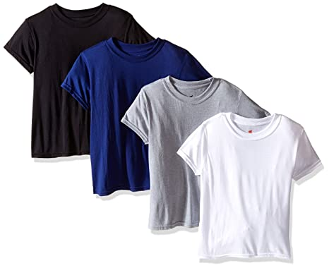 3f7f55a1313a Amazon.com  Hanes Big Boys 4-Pack X-Temp Crew  Clothing