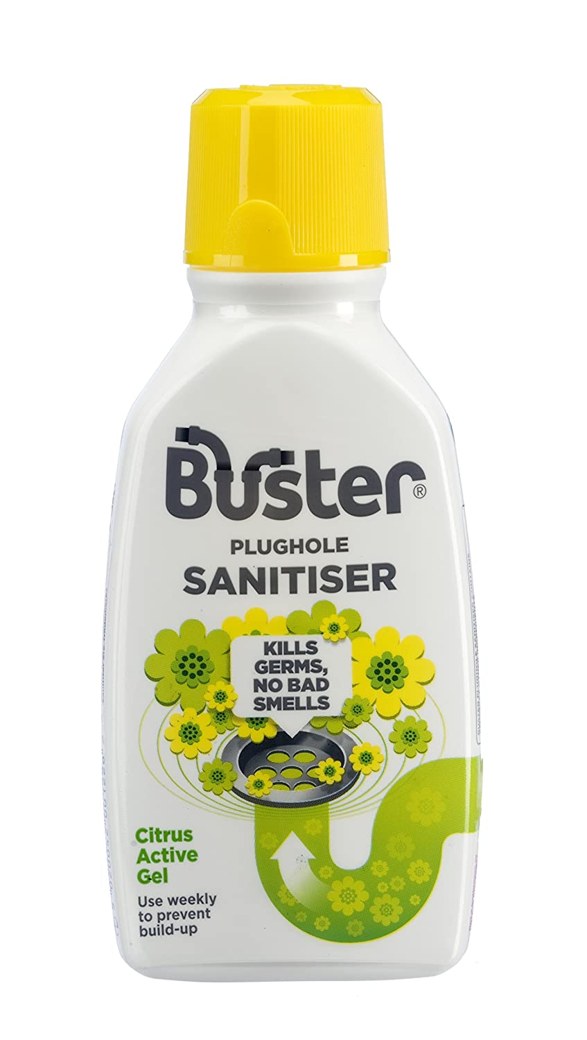 Buster Active Citrus Sanitiser Gel, 300 ml, Pack of 6 Challs International 6122