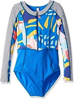 2f0068d3d85 Amazon.com: Maaji Girls' Mixed Print Long Sleeve One Piece Swimsuit ...