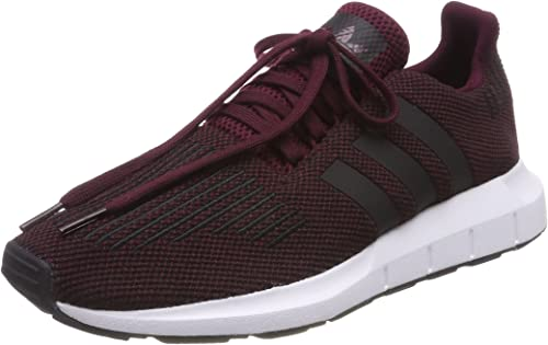 Opresor Actual barajar  Adidas Swift Run, Men's Fitness, Red (Granat / Negbas / Ftwbla 000), 13 UK  (48.2/3 EU): Amazon.co.uk: Shoes & Bags