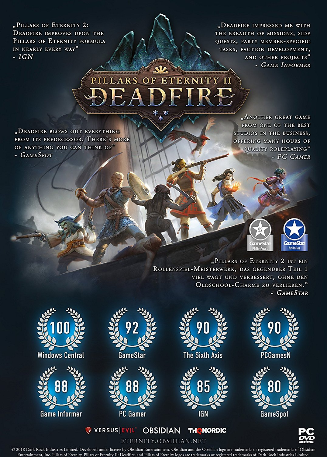 [2019-03-31] Pillars of Eternity 2 Deadfire switch 81Oak9gjpaL._SL1500_