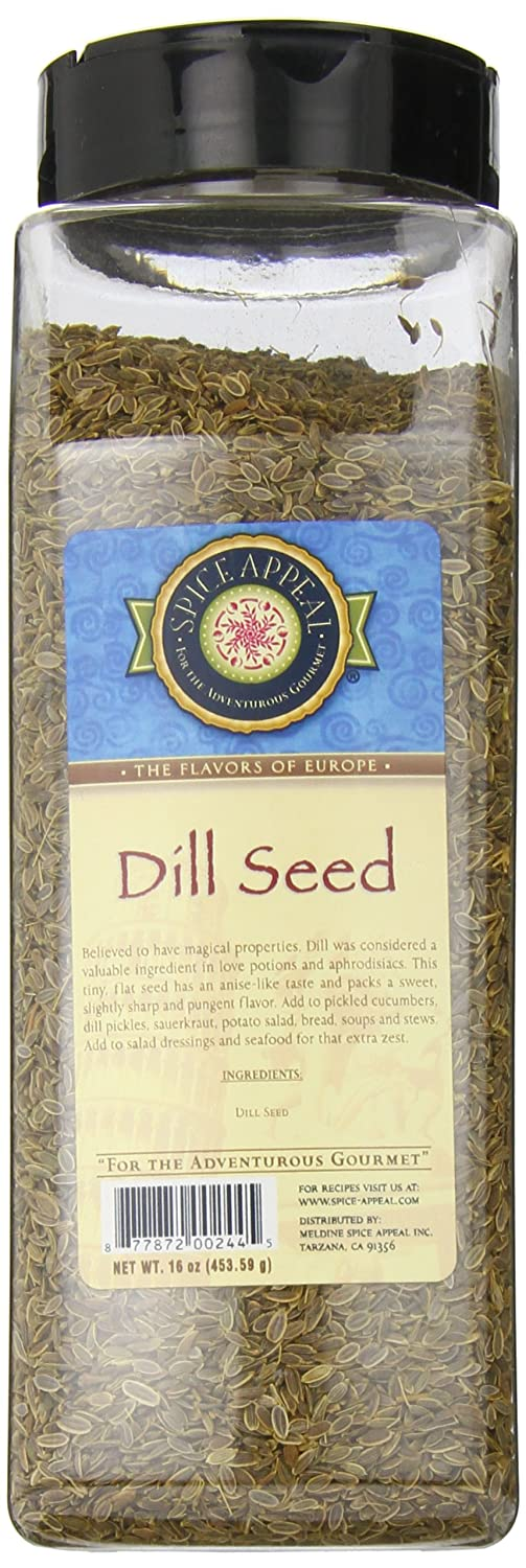 Spice Appeal Dill Seed, 16 Ounce