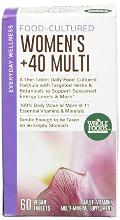 Amazon.com: Whole Foods Market, Food-Cultured Once Daily Women\'s 40+ ...
