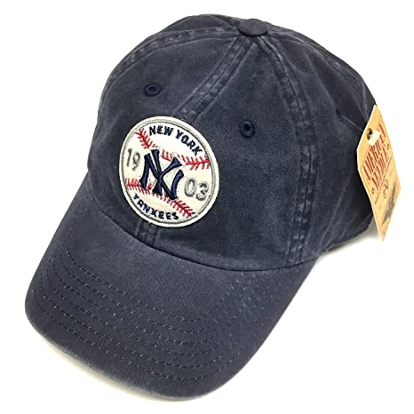 f7d3f488a4aa7 Image Unavailable. Image not available for. Color  American Needle MLB New  York Yankees Team Hardball III Retro Snapback Cap