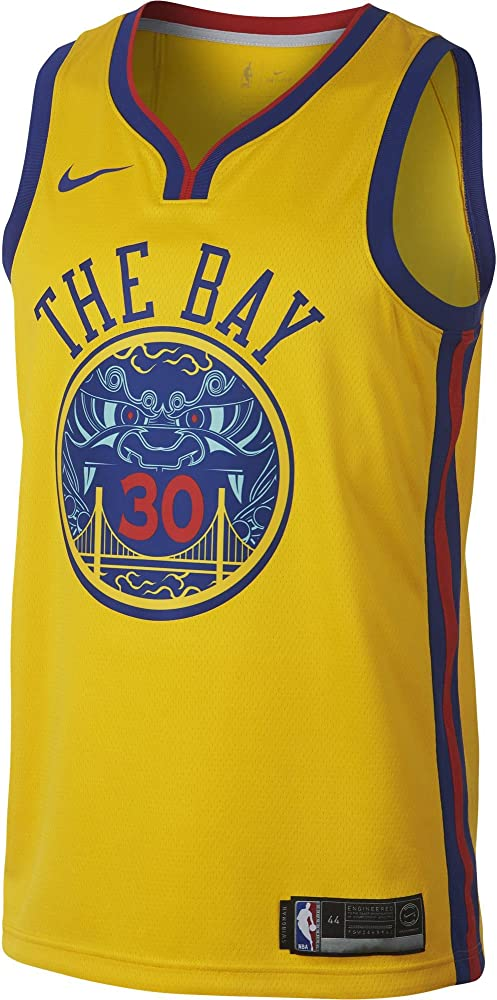Nike NBA Golden State Warriors Stephen Curry 30 SC30 2017 2018 City ...