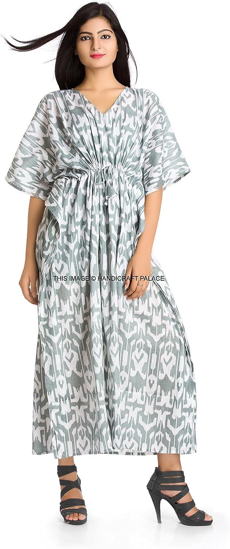 Women/'S Long Kaftan Plus Size Night Maxi Gown Bathing suit Beach Coverup S-6X