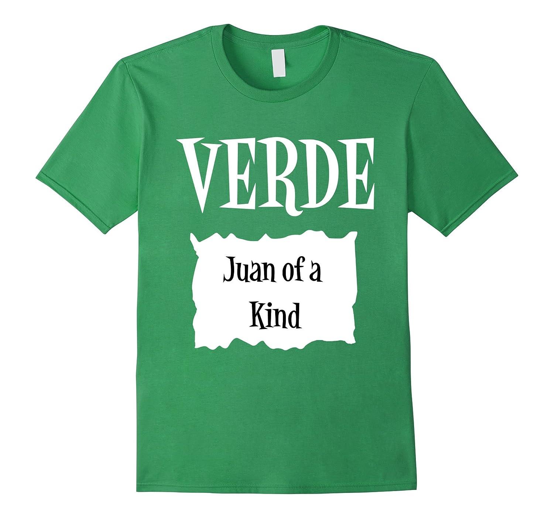 Verde Green Sauce Packet Shirt - Halloween Costume T-Shirts-ANZ