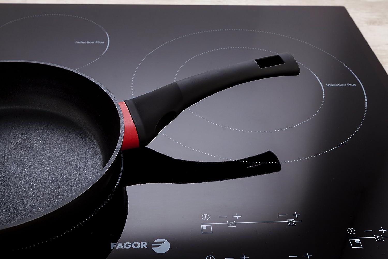 Fagor Vulkano Sartén, Aluminio Forjado, 28 Cm, Antiadherente Bicapa, Full Induction: Amazon.es: Hogar