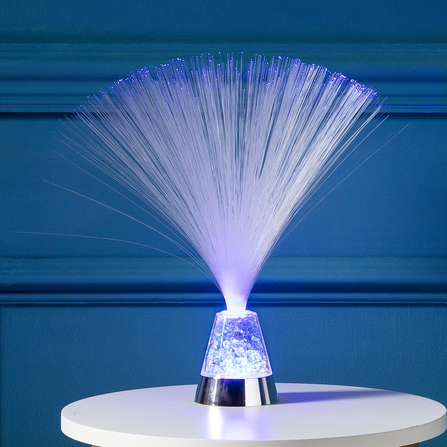 Fibre Optic LED Bedside Lamp by Lights4fun