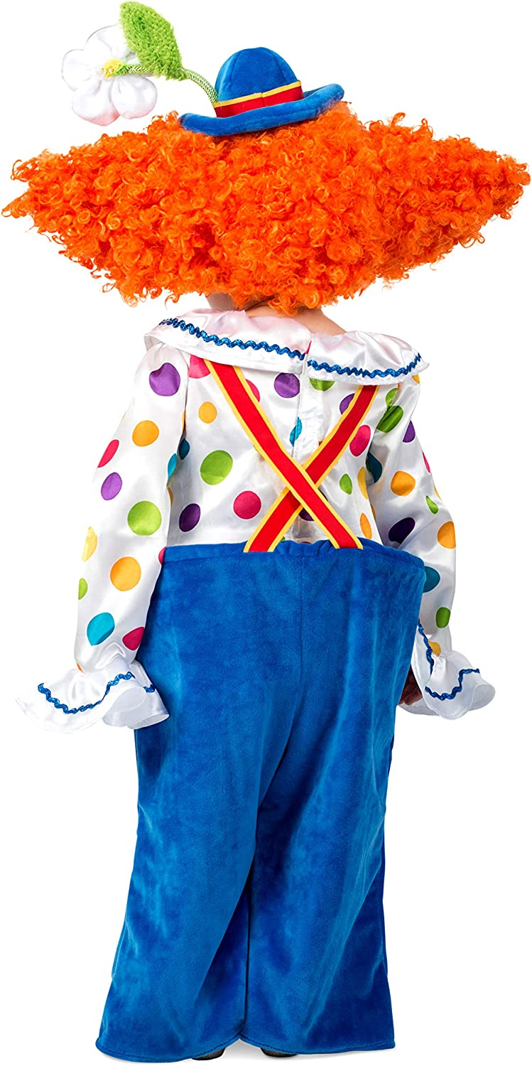 Small Princess Paradise Childs Colorful Circus Clown Costume