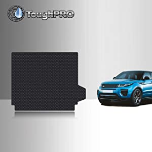 TOUGHPRO Cargo/Trunk Mat Accessories Compatible with Land Rover Range Rover Sport - All Weather - Heavy Duty - (Made in USA) - Black Rubber - 2014, 2015, 2016, 2017, 2018, 2019, 2020