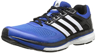 adidas Supernova Glide Boost 6, Mens Running Shoes, Blue (Blue BeautyWhite
