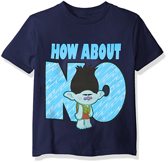 e4289777a2f Amazon.com  Trolls Boys  Little Boys  Branch Short-Sleeved T-Shirt  Clothing