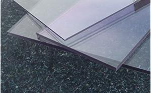 250 x 700 mm beidseitig foliert Wunschma/ß Zuschnitt bis Gr/ö/ße 25 x 70 cm B/&T Metall Acrylglas PMMA XT Platte transparent UV-best/ändig 3,0 mm stark