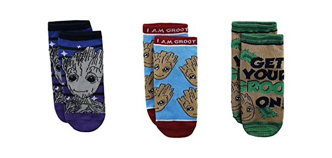 Guardianes de la zapatilla de deporte de Galaxy Calcetines 3 Baby Groot 39-42 a Vol. 2 Marvel: Amazon.es: Juguetes y juegos