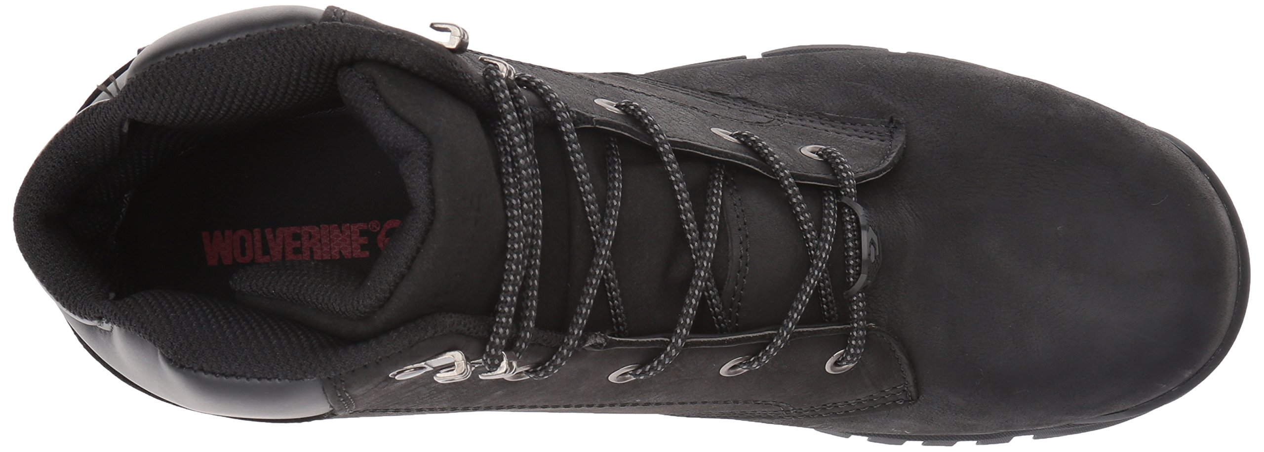 Wolverine Men's Mauler LX Composite Toe Waterproof Work Boot Black 7 W US by Wolverine (Image #8)