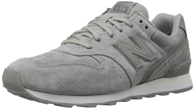 New Balance Women's 696v1 Classic Sneaker B01N6KK4PS 7.5 B(M) US|Gray/White