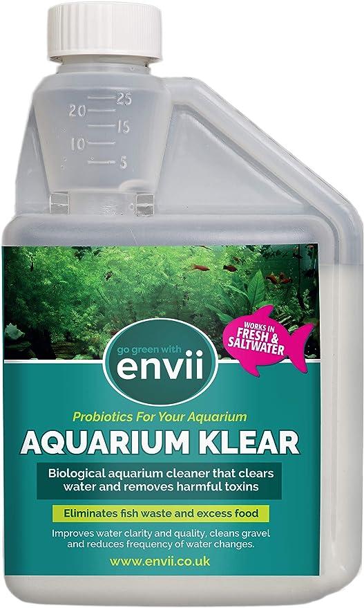 Envii Aquarium Klear - Tratamiento Agua Verde Acuario - Trata ...