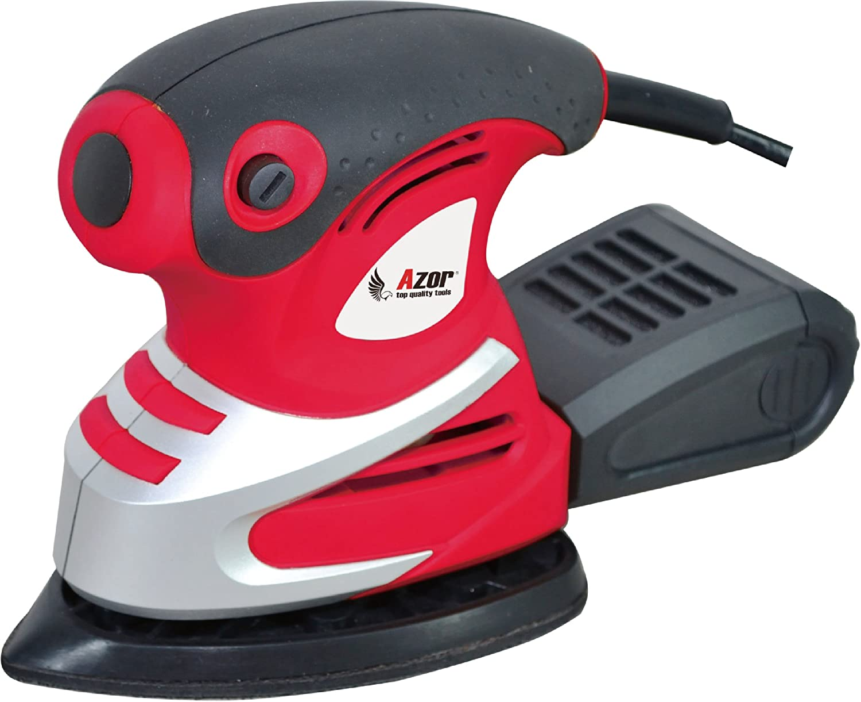 Azor LM-5155 Lijadora Mouse, 180 W, 240 V, Rojo