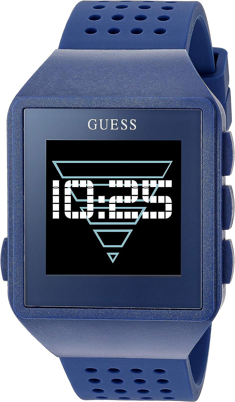 Guess Watches Gents Connect Reloj para Hombre Digital con Brazalete de Silicona C3002M5