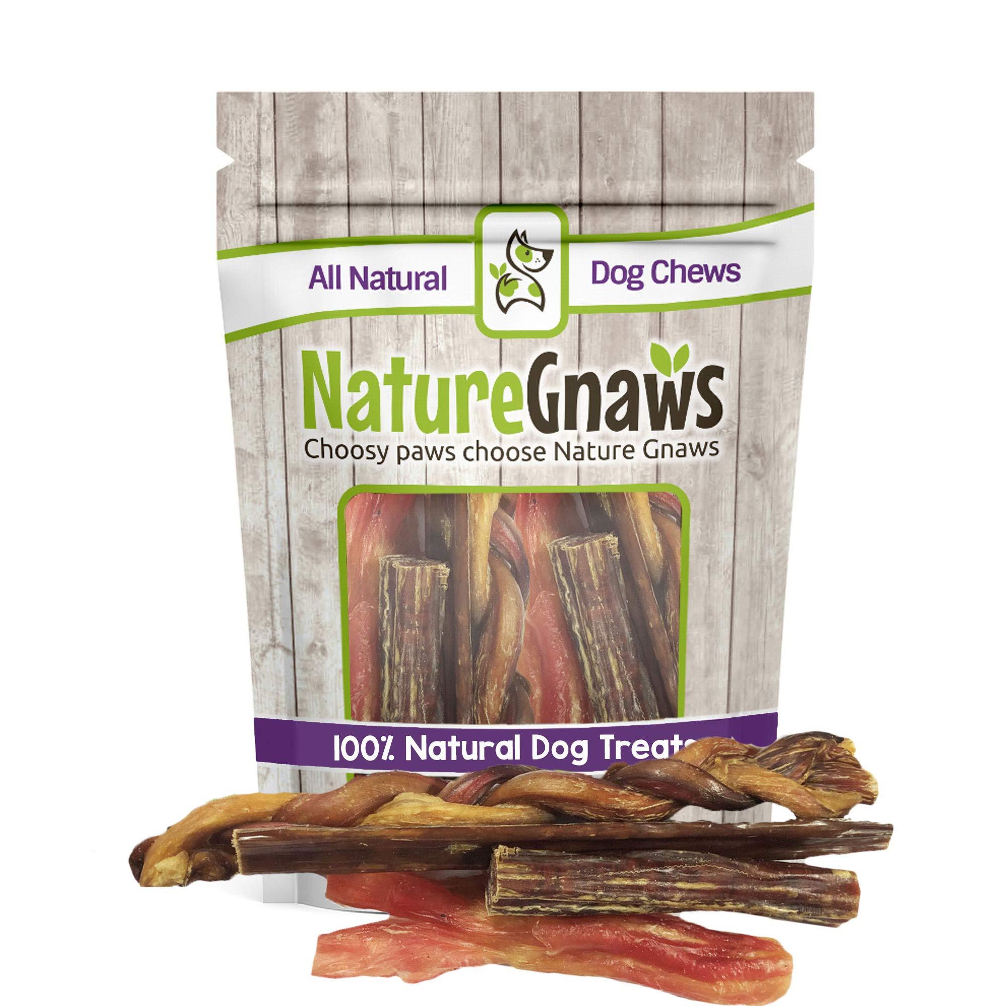 Nature Gnaws Large Variety Pack - 100% Natural Dog Chew Treats