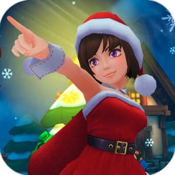 Amazon Com Lady Santa Christmas 3d Hd Live Wallpaper Appstore