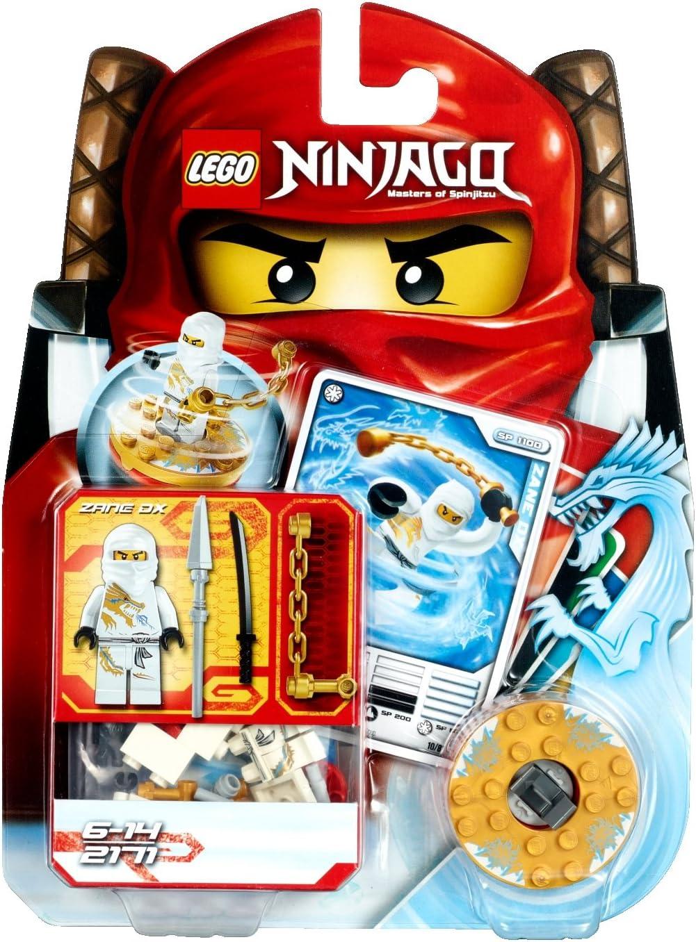 Lego Ninjago 2171 Zane DX Pack Complet-Neuf